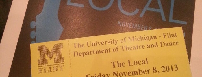 UM-Flint Theatre is one of 101 Things to Do Before You Graduate.