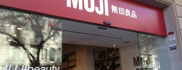 Muji is one of Barcelona, Spain.