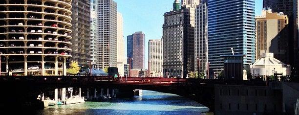 Clark Street Bridge is one of Chicago.