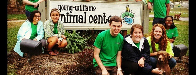 Young Williams Animal Shelter is one of Adventuring.