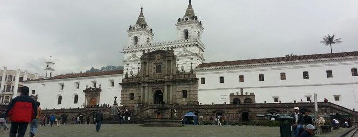 Iglesia de San Francisco is one of Things To Do In Ecuador.