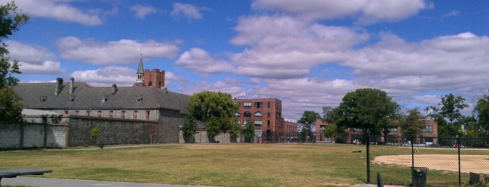 Hunts Point Recreation Center is one of NYC Percent for Art.
