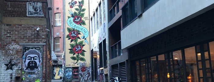 ACDC Lane is one of A week in Australia: Melbourne, Sydney, & the Reef.