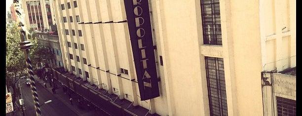 Teatro Metropolitan is one of Venues.