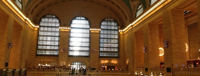 Grand Central Terminal is one of Bucket List Places.