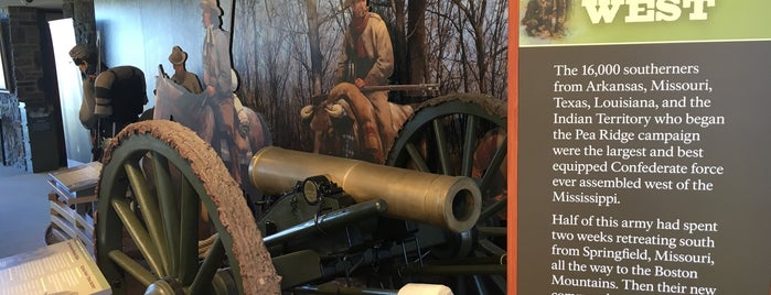 Pea Ridge National Military Park is one of National Parks.