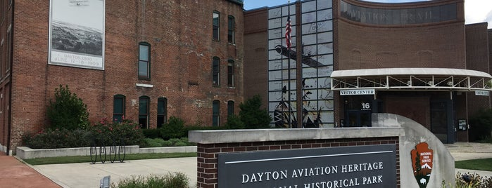 Dayton Aviation Heritage National Historical Park is one of National Parks.