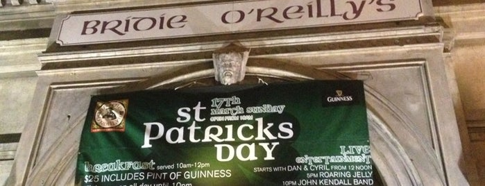 Bridie O'Reilly's is one of My favorites for Pubs.