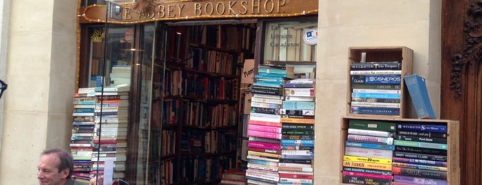 The Abbey Bookshop is one of To Shop (Books).