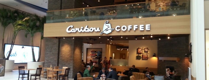 Caribou Coffee is one of mht.