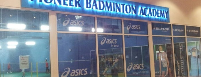 Pioneer Badminton Academy is one of a.