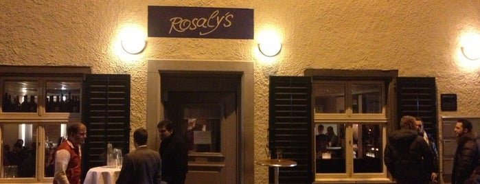 Rosaly's Restaurant & Bar is one of Reschtis in Züri.