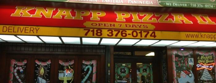 Knapp Pizza II is one of 🍕.