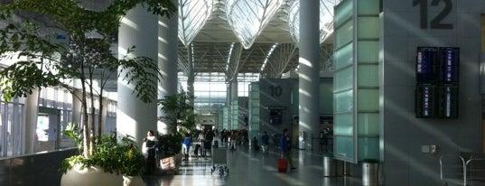 Aéroport International de San Francisco (SFO) is one of The City.