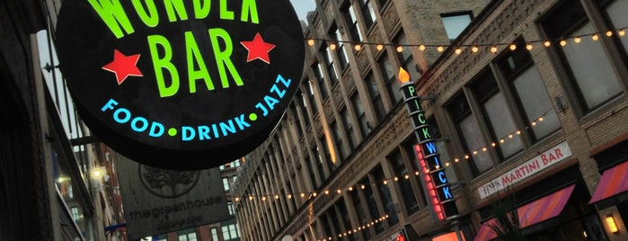 Wonder Bar is one of Enjoy Cleveland.