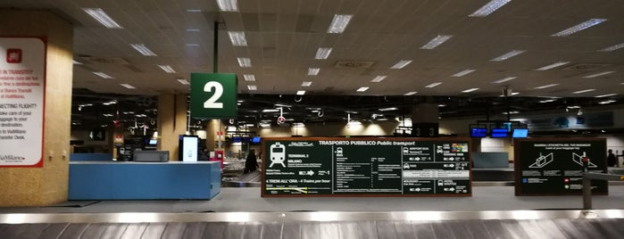 Terminal 1 is one of Italy 2011.