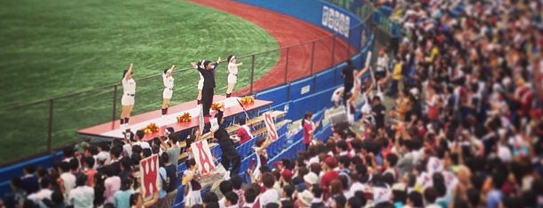 Meiji Jingu Stadium is one of Japan Triple Play.