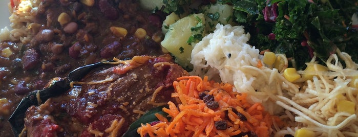 Jungle Cafe is one of healthy eats.