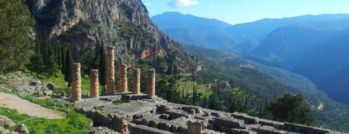Temple of Apollo is one of Greek gems.
