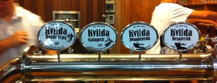 Pivovar Kvilda is one of Beer guide.