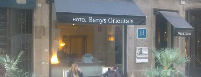 Banys Orientals Hotel Barcelona is one of Barcelona.