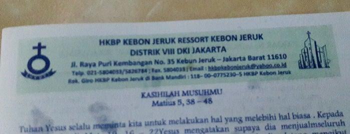 HKBP Kebon Jeruk is one of Distrik 28.