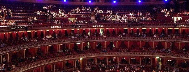 Royal Albert Hall is one of London.