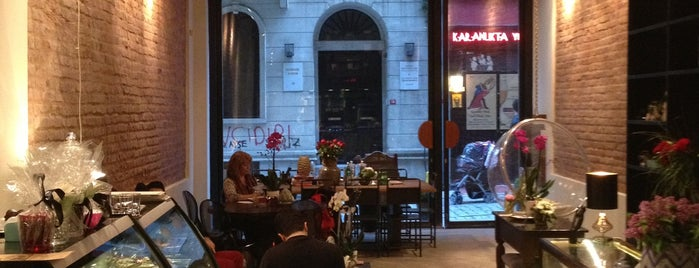 Nikol Galata is one of My favourites for Cafes & Restaurants.