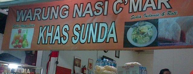 Warung C'mar is one of Kuliner near Braga, Bandung.