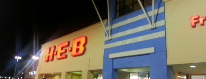 H-E-B is one of My frequent places.