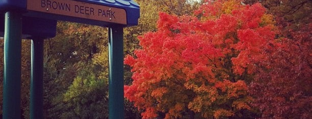 Brown Deer Park is one of A Traveler's Guide to Milwaukee.