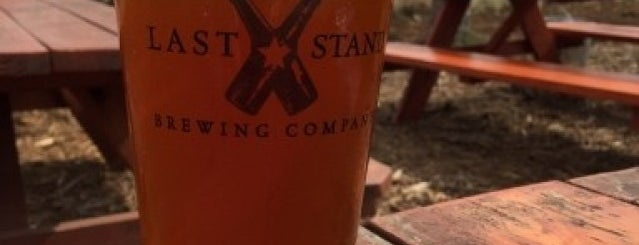 Last Stand Brewing Company is one of Texas breweries.