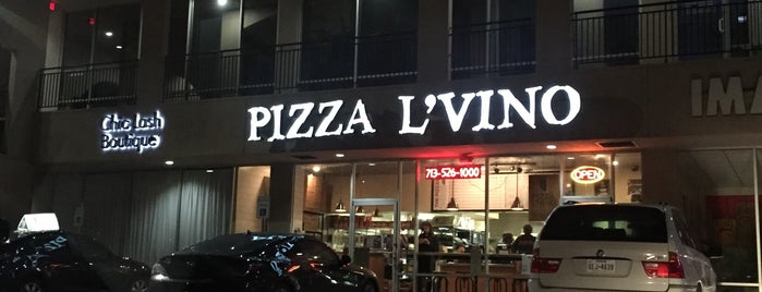 Pizza L'Vino is one of Vegan's Survival Guide to Houston.