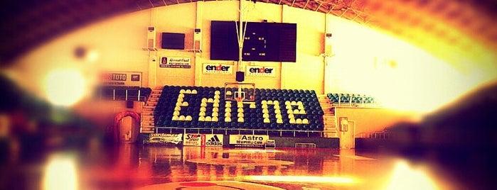 Mimar Sinan Spor Salonu is one of favorites.