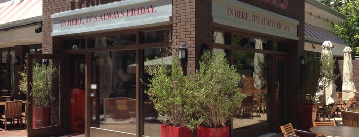 TGI Fridays is one of Athens Approved.