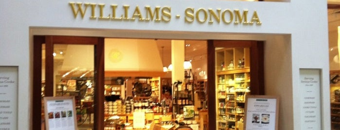 Williams-Sonoma is one of AUS Faves and To Do.