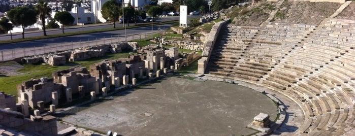 Antik Tiyatro is one of Bodrum Bodrum.