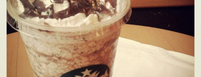 Starbucks Coffee is one of work.