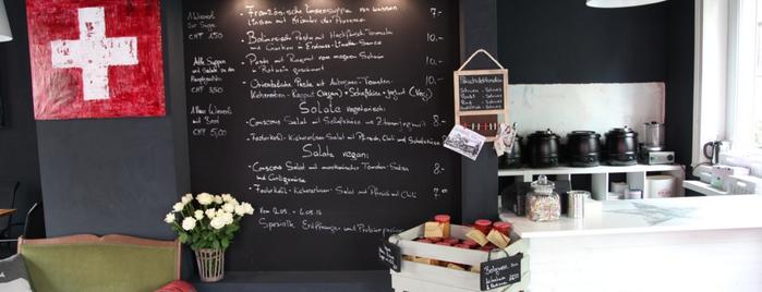 Sue's Kitchen is one of Zürich ••Spotted••.