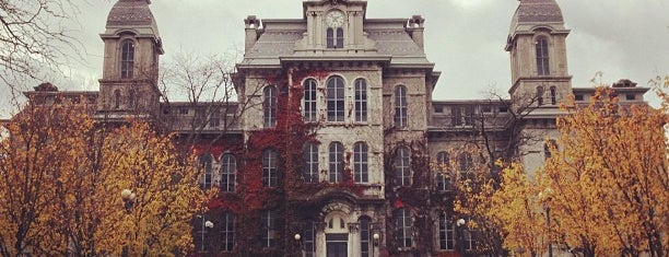 Syracuse University is one of Colleges I've Visited.