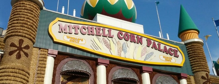 The Corn Palace is one of The Great American Road Trip.