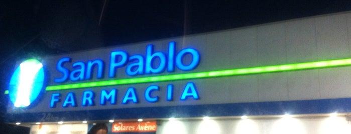 Farmacia San Pablo is one of mis favoritos C=.