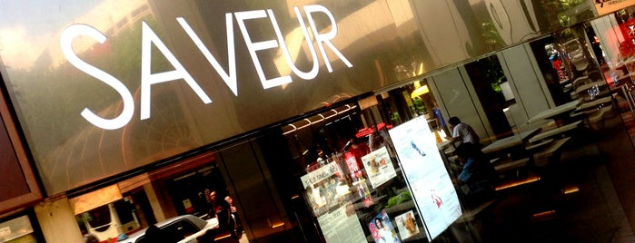 Saveur is one of my best-loved restaurants.