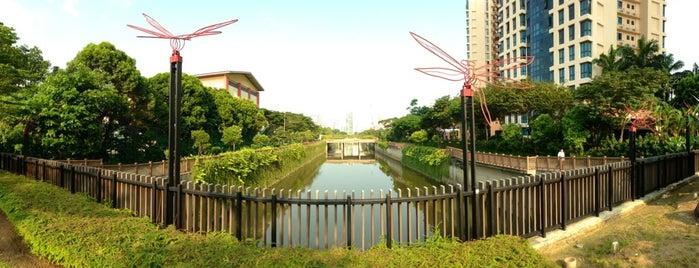 Alexandra Canal is one of Trek Across Singapore.