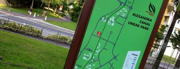 Alexandra Canal Linear Park is one of Trek Across Singapore.