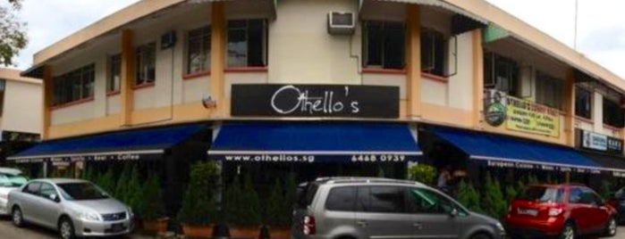 Othello's Café Bar is one of Singapore.