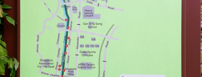 Alexandra Park Connector is one of Trek Across Singapore.