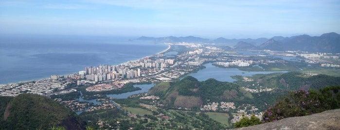 Pedra Bonita is one of Travel Guide to Rio de Janeiro.