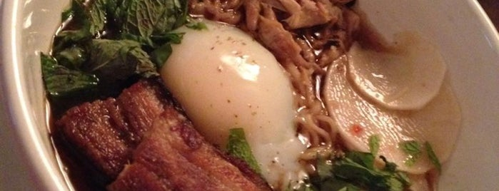 Cafe Genevieve is one of A State-by-State Guide to America's Best Ramen.