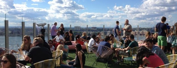 Le Bain is one of America's Ultimate Rooftop Bars.